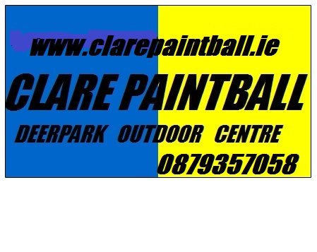 Clare Paintball 1