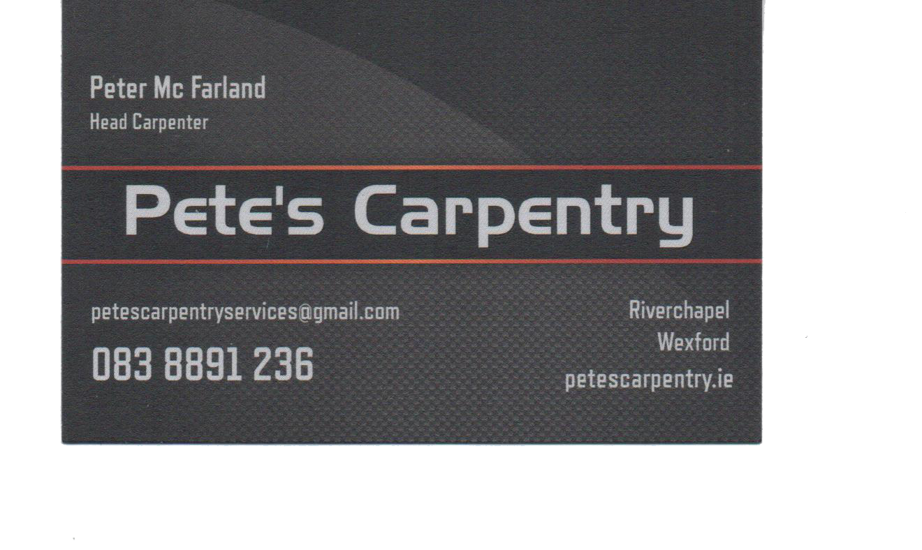 Pete's Carpentry Services
