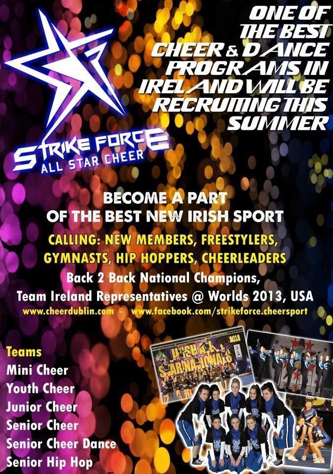 Strike Force Cheerleading Dublin 2