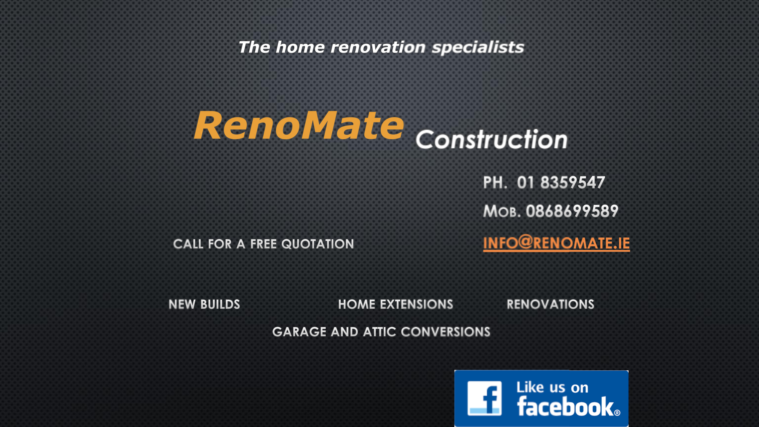 RenoMate Construction 1