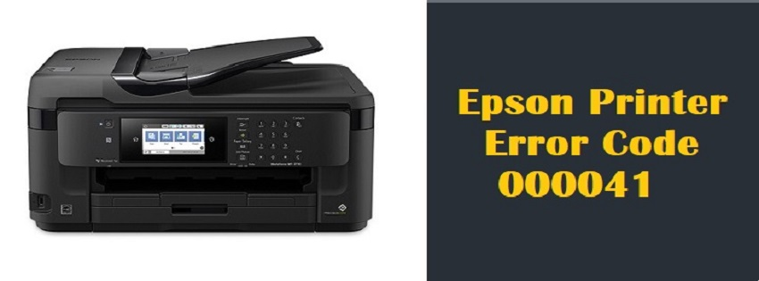 Epson Printer Error Code 000041 | +1-866-231-0111 | [Resolved] image 1