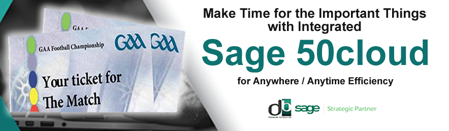 SAGE 50C FROM DB COMPUTER SOLUTIONS image 1