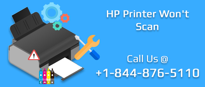 How to Fix an HP Printer Won't Scan Problem? image 1