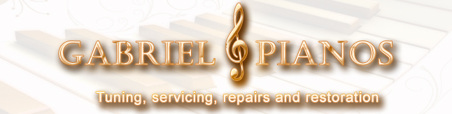GABRIEL PIANOS - high end piano restoration expertise