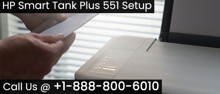 How To Setup and Install HP Smart Tank Plus 551 Printer? image 1