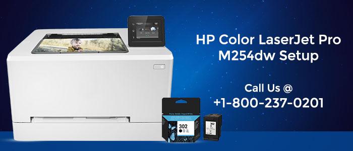 HP Laserjet Pro M254dw Wireless Setup | 123.hp.com/setup
