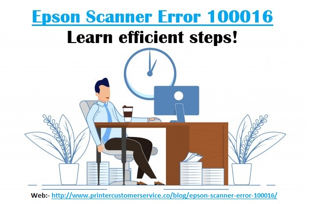 Quick Fix Epson Scanner Error 100016? image