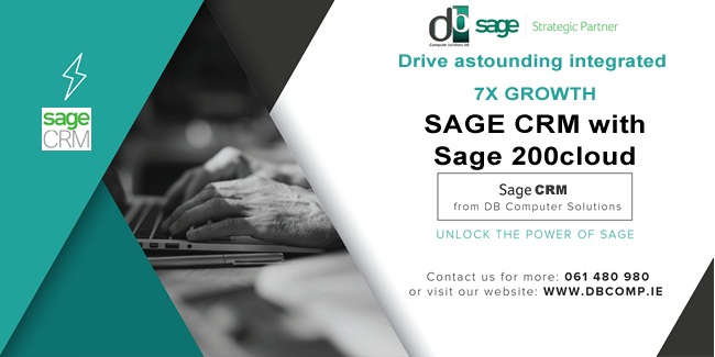 DRIVE ASTONISHING 7X GROWTH with Sage CRM and Sage 200cloud