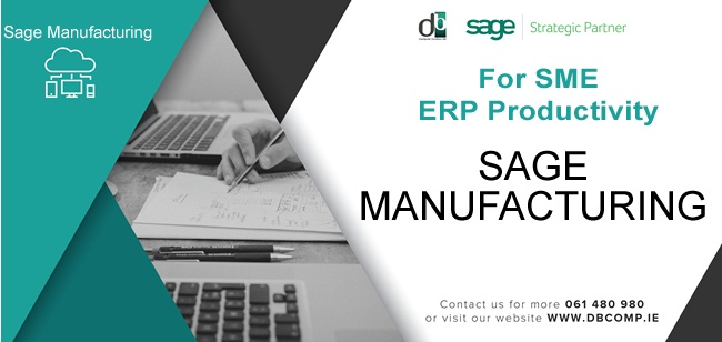 Sage Manufacturing from DB Computer Solutions integrated with Sage 50c