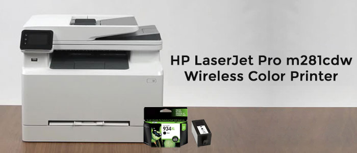 HP color laserjet pro mfp m281cdw to get quality print outs