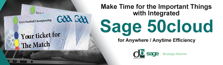 Now you can with efficient SAGE 50C FROM DB COMPUTER SOLUTIONS