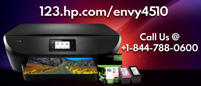 Know the features and setup process of hp envy 4510 printers