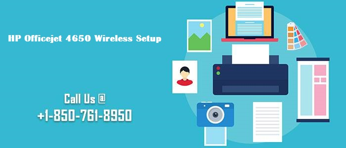 Steps to Execute HP Officejet 4650 Wireless Setup image 1