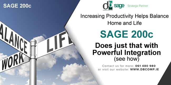 Unlock a Better Work / Home Life Balance by Integrating Sage Barcode and Remote Rep