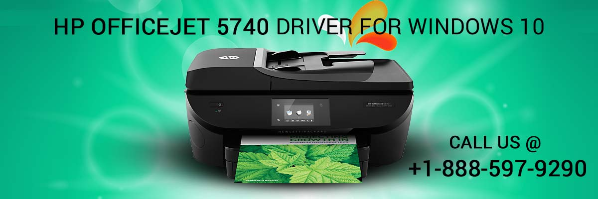 HP OfficeJet 5740 Driver for Windows 10 image 1