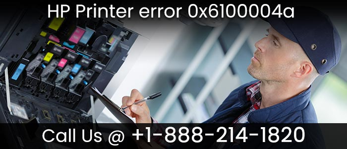 How to resolve HP printer error 0x61000047