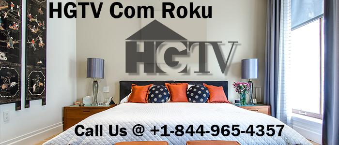 Activate HGTV on Roku at hgtv.com/roku