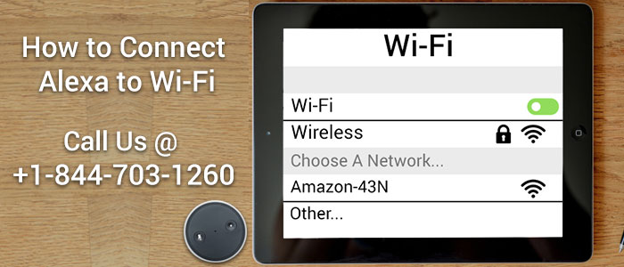 Connect Amazon Echo to Wi-Fi Network