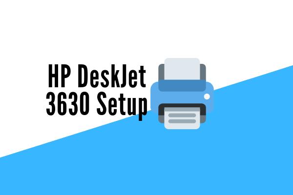 HP Deskjet 3630 Setup