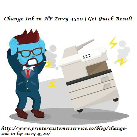 Change Ink in HP Envy 4520 | Get Quick Result