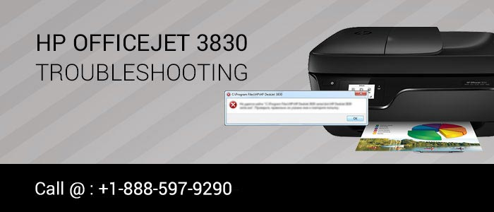 HP officejet 3830 document stuck in queue image 1