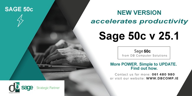 SAGE 50C v 25.1 FROM DB COMPUTER SOLUTIONS!