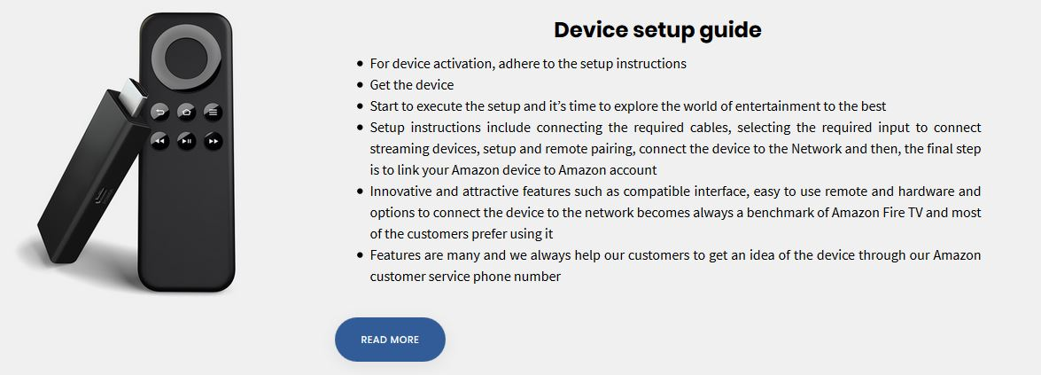 where can I get the Amazon Firetvstick support number