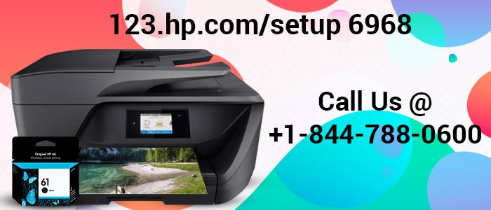 Setup HP Printer 6968