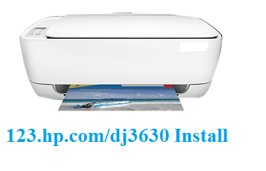 HP Dj 3630 setup and wireless printer | 123.hp.com/setup image 1