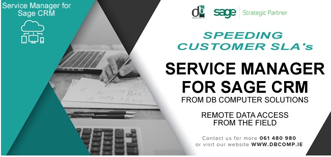 Service Manager for Sage CRM from DB Computer Solutions