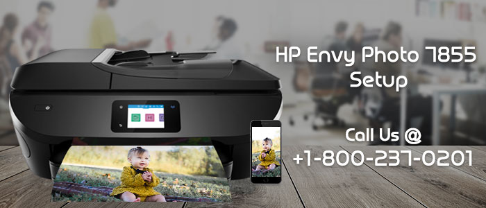 How To Setup HP Envy 7855 Wireless Printer