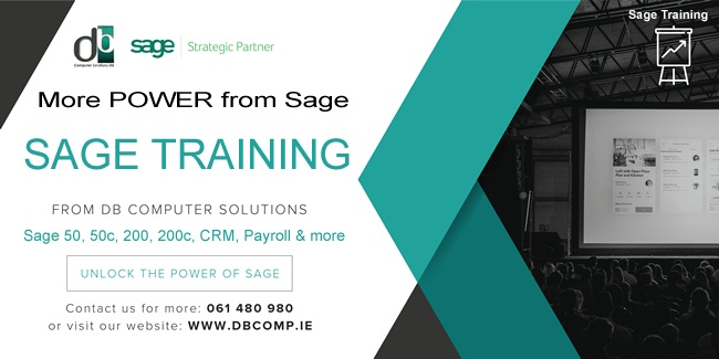 Reap ALL the Power from Your Sage Solutions with our knowledgeable SAGE TRAINING FROM DB COMPUTER