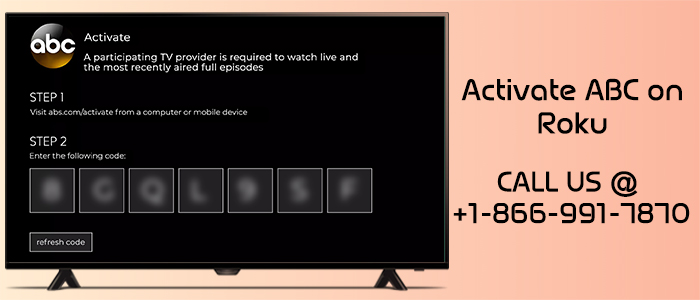 How to activate ABC network on Roku? image 1