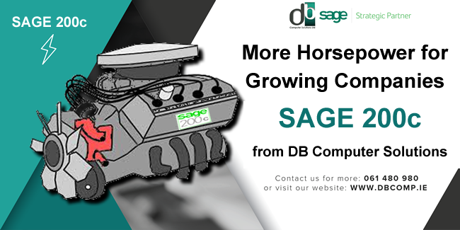 SAGE 200C from DB COMPUTER SOLUTIONS