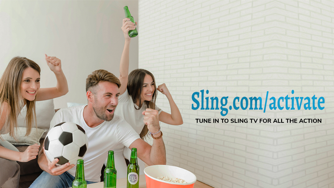 Watch Sling TV Channel on Streaming Players Using sling.com/activate