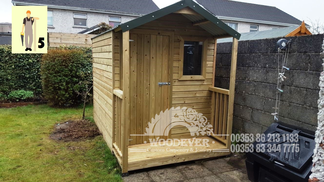 Handmade Garden Sheds and Storage