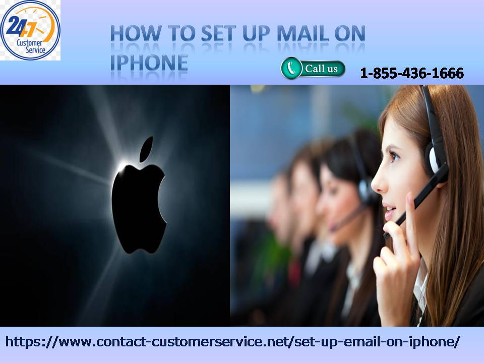 Don't know how to set up mail on iPhone 1-855-436-1666 , set up now at