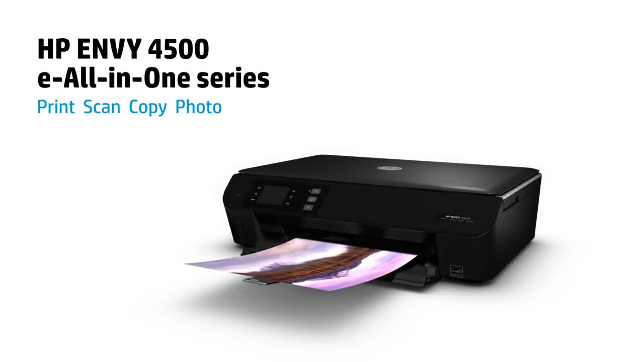 HP Envy 4500 printer drivers download for Windows image 1