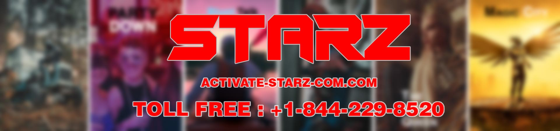 Activate and enjoy Starz Channel Shows image 1