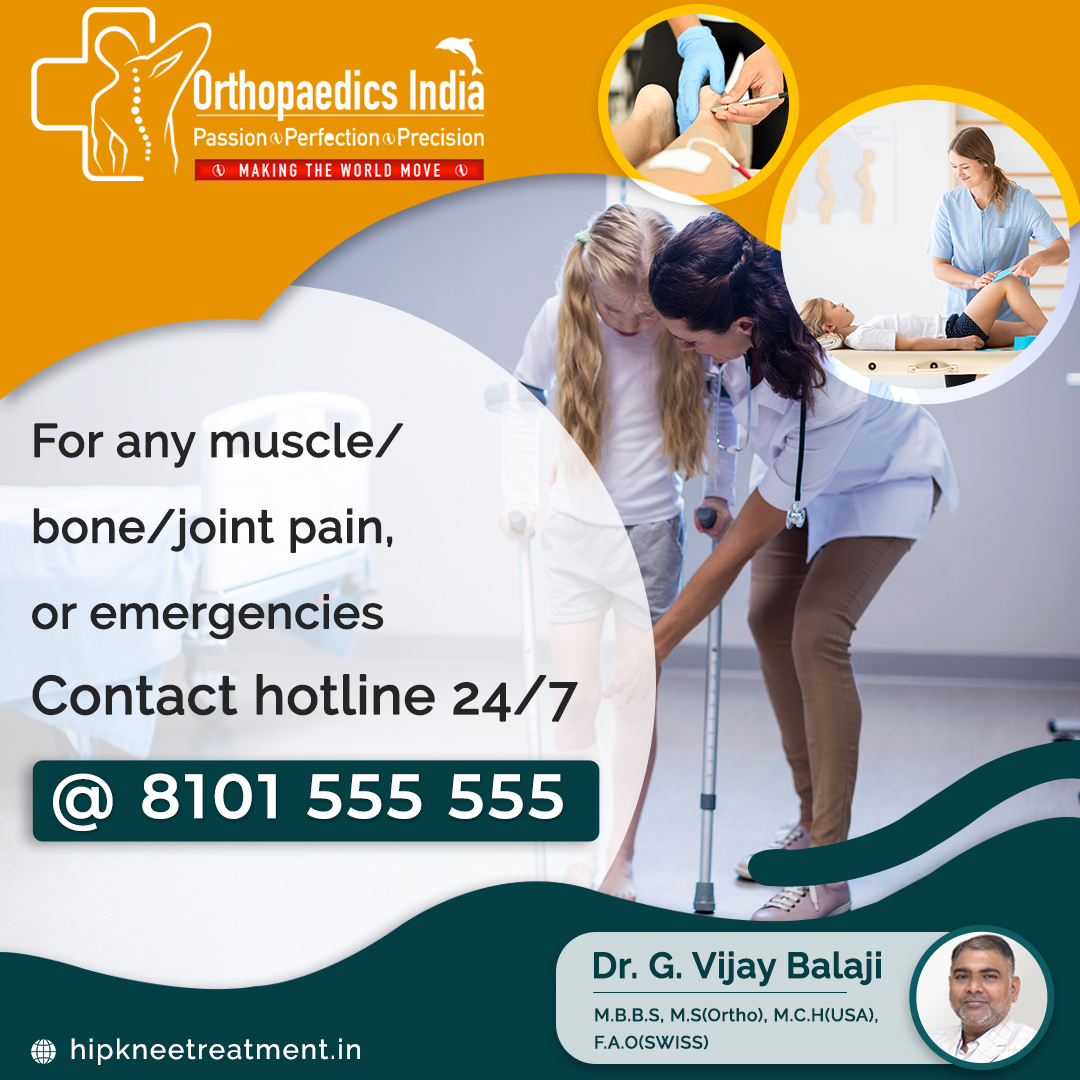 Best Orthopaedic Doctor in Chennai