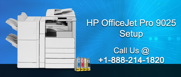 How to setup HP OfficeJet pro 9025 Printer?