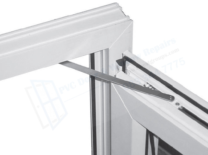 Friction Door Wind Restrictor Stay For uPVC, Aluminium, French, Patio Door