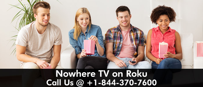 Nowhere TV Activation on Roku