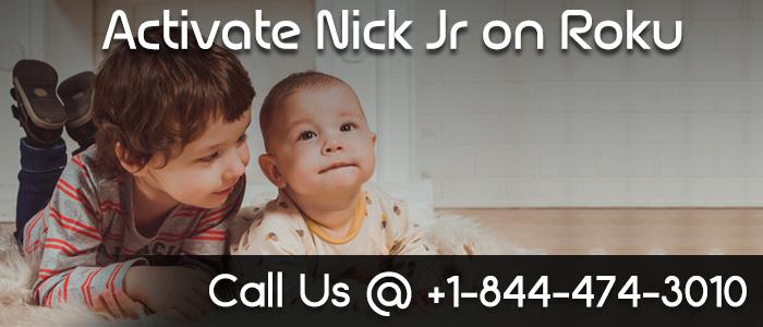 Nick Jr channel Activation