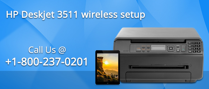 Connect HP Deskjet 3511 to a wireless network using HP printer Software
