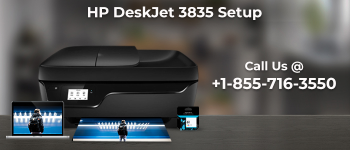 How to Fix HP Deskjet 3835 printer Ink Cartridge Issue?
