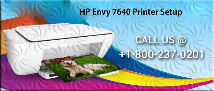 How to Setup 123 HP Envy 7640 Printer?