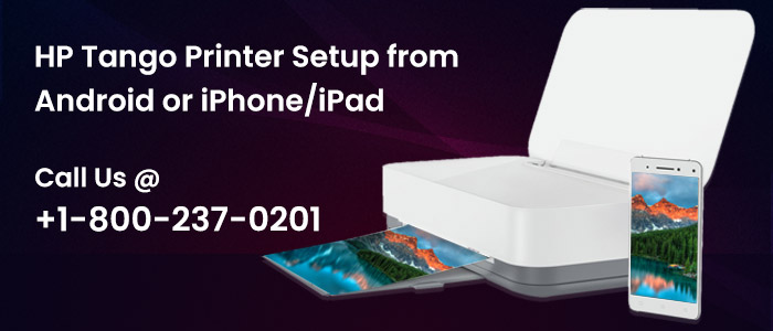 Setup For HP Tango Smart Home Printer Support