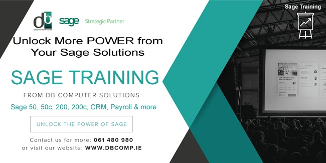 Unlock More Power from Your Sage Solutions with SAGE TRAINING FROM DB COMPUTER SOLUTIONS