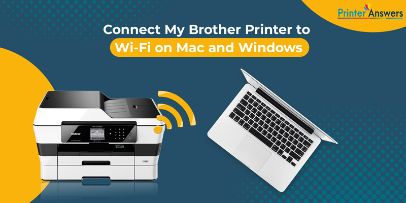 How to Connect Your Brother Printer to a Mac Wirelessly? image 1